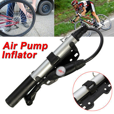 High Pressure Portable Bike Bicycle Cycling Air Pump Inflator for Tyre Tire Ball