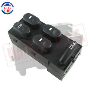 Front Master Power Window Switch Driver Lh For Buick Century Regal 10433029