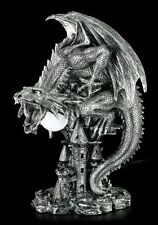 Drachen Lampe - Nazgar LED - Deko Figur Statue Fantasy Nachtlicht