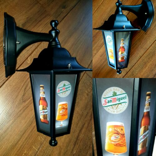 pub bar Man cave LED, Spanish beer San miguel lantern light Wall Lantern