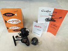 Cargem 402 Silver Fish Antique/ Vintage Spinning reel- Made in Italy