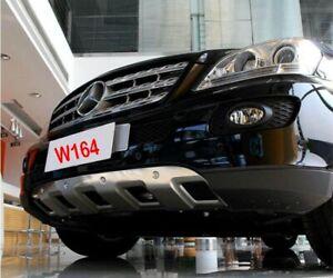 Abdeckung-fuer-Mercedes-Benz-ML-W164-vorn-Stossstange-Diffusor-Frontstossstange