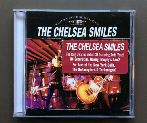 1 of 1 - THE CHELSEA SMILES - Thirty Six Hours Later CD Like NEW 2006 12 Tracks D-Gen
