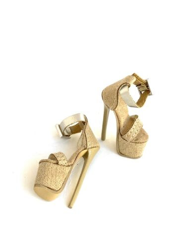 Fashion Royalty Nuface Dominion Lovetones Dolls Shoes Stiletto Platform Sandal