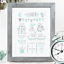 Personalised-Birth-Print-for-Baby-Boy-Girl-New-Baby-Gift-or-Christening-Present thumbnail 38