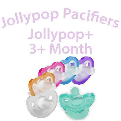 Jollypop Plus+ Pacifiers 3+ Months - Pick Your Color and Scent - NIP