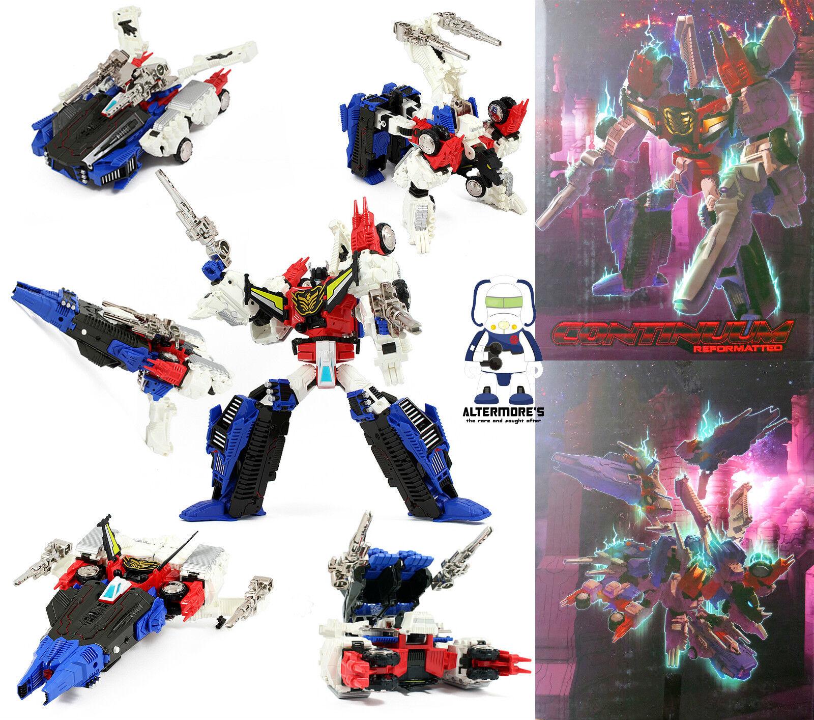 Transformers MASTERMIND CREATIONS R-01G grandus Hexatron Altrimenti detto greatshot NUOVO IN SCATOLA SIGILLATA