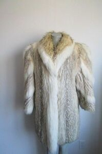 Fox With Sale Women's Mint Ladies Badger Fur 8 White Coat Sz wxafHnqp
