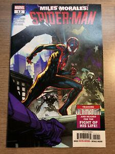 Miles Morales Spider-Man #1 1st Print Regular Cover VF//NM 2019