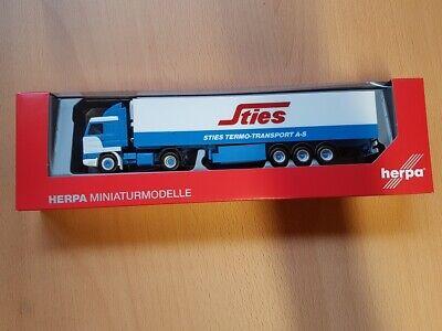 Herpa 1//87 Scania 143 M Sattelzug Haugstedt Spedition OVP #8905