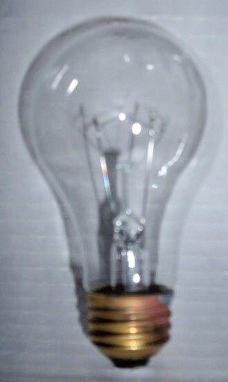 75watt Clear Rough Service, 10k hour, Incandescent Bulbs (12)