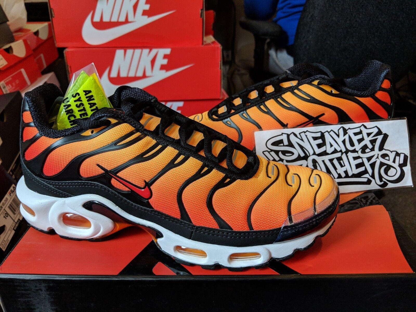 f7b1871a53 Nike Air Max Plus Sunset Black Pimento Ceramic Resin orange BQ4629-001 TN  OG ntalgh104-Athletic Shoes