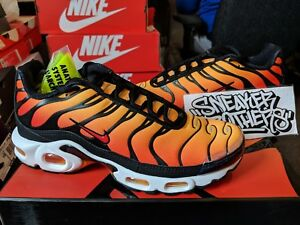 buy online 5091e 2359d Image is loading Nike-Air-Max-Plus-TN-OG-Sunset-Black-