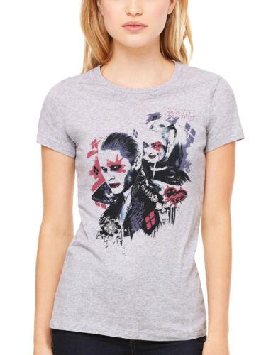 Official Women/'s DC Comics Suicide Squad Harley/'s Puddin T-shirt Margot Robbie T