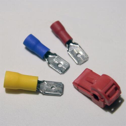 10 branche connecteur pour câble Chaussures rouge 0,5-1,5mm² stromdieb de serrage connecteur NEUF