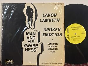 Lavon-Lambeth-Man-And-His-Awareness-VG-VEL-private-black-spoken-word-poetry