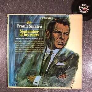 FRANK-SINATRA-September-of-My-Years-VINYL-LP-FS-1014-EX-EX