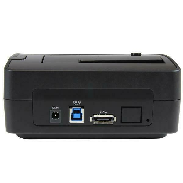 StarTech USB 3.1 (10Gbps) / eSATA Single-bay Dock