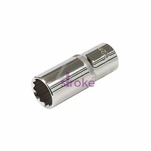 "Deep Socket 1//2/"" Drive 12pt Metric Deep Bi Hex Corrotion Resistant Socket 22mm"