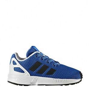check out 4e99e bd3f6 Kidss adidas Originals ZX Flux El I Low Rise Trainers in Blu