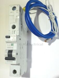 Awesome Mem 32 Amp Type C 32A Mcb Rcbo Mr30 Pod 30Ma Memera 2000 Bill Eaton Wiring Digital Resources Dadeaprontobusorg