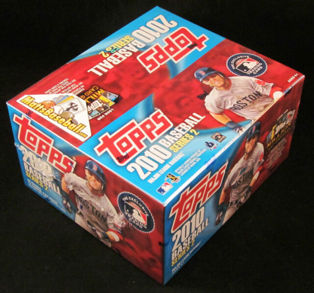 2010 Topps Baseball Series 2 RETAIL Factory Sealed, 24 packs/12 cards