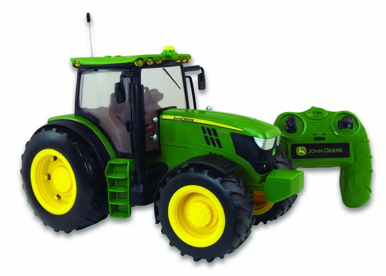 Britains Big Farm 42838 1 16 Scale John Deere Deere Deere 6190R Radio Controlled Tractor baf5e5