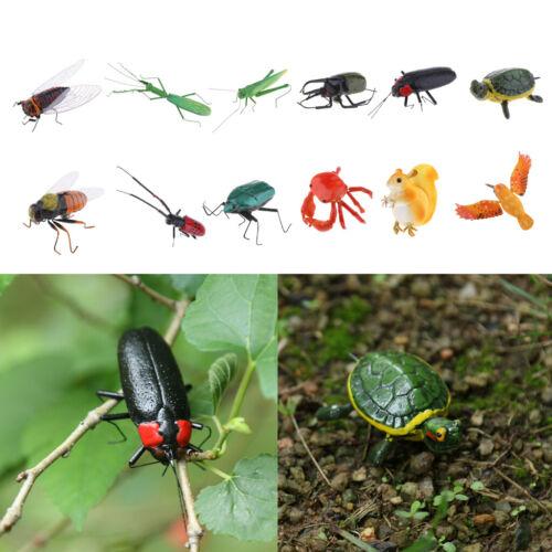 Naturgetreue Insekten Tierverzierung Kühlschrankmagnet Patio Miniatur Im Freien