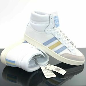 NEW-adidas-Originals-AMERICANA-HI-SHOES-EF2505-Cloud-White-Glow-Blue-Size-11-5