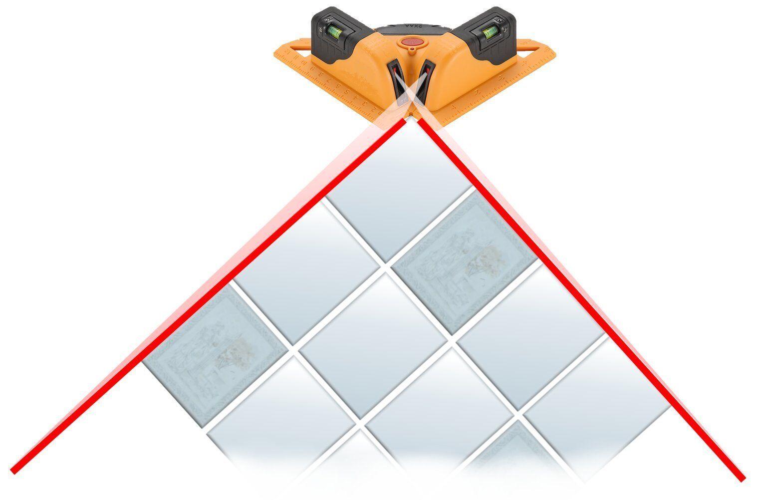 GeoFennel Square Liner II Linienlaser  Winkellaser  Laserwinkel