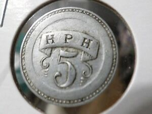 Rare-Trade-Token-H-P-H-Unknown-Coin-Medal