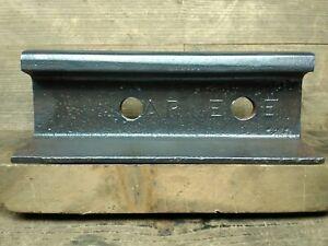Rare-Carnegie-Steel-Railroad-Rail-Train-track-Anvil-Collectible-21-Lbs