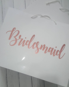 Image Is Loading Personalised Bridesmaid Gifts Bags Gift