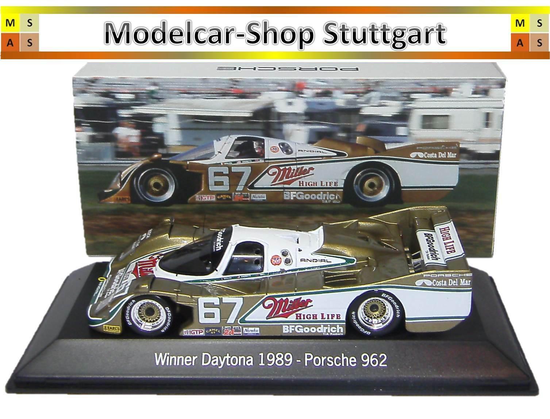 Porsche 962 - Vinnare Daytona 1989 - Spark 1 43 - Ma02028914 - Nip