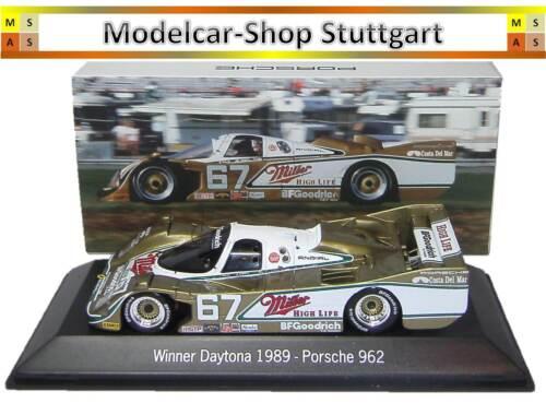 Porsche 962 - Gagnant Daytona 1989 Spark 1:43 Map02028914