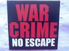 War Crime - No Escape   CD 1997  rare US Metal   Liege Lord   Purgatory