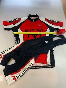 Image is loading Bergamo-Womens-Cycling-Jersey-And-Bib-Shorts-Large- a4e1e5363