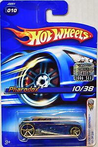 Autos, Lkw & Busse RüCksichtsvoll Hot Wheels 2006 Erste Editionen Pharodox #010 Blau Werkseitig Versiegelt Auto- & Verkehrsmodelle