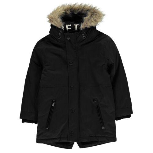 Firetrap Luxe Parka InB01 Boys Jacket Coat Top