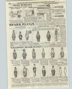 Champion Ford Reo >> Details About 1919 Paper Ad Mosler Inferno Champion Minute Spark Plugs Toledo Reo Metz Ford