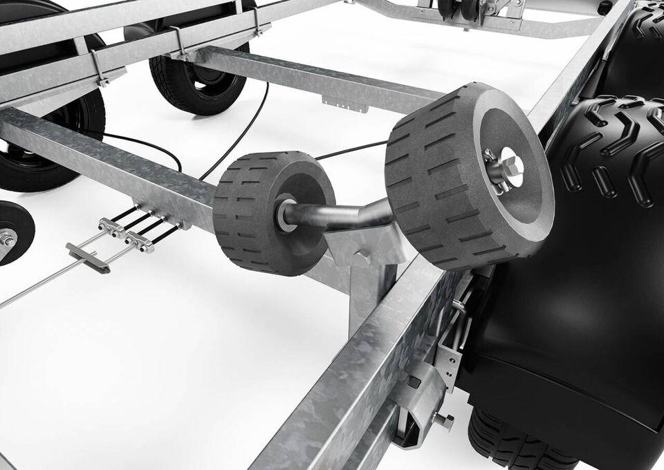 Trailer, Brenderup Brenderup SRX 1300 KG - 20 fod, lastevne