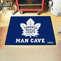 Toronto Maple Leafs Man Cave 34 X 43 All Star Area Rug Floor Mat