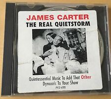 JAMES CARTER 1994 The Real Quiet Storm ULTRA RARE JAZZ PROMO CD SINGLE