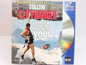 LASERDISC-CLIFFHANGER-STALLONE