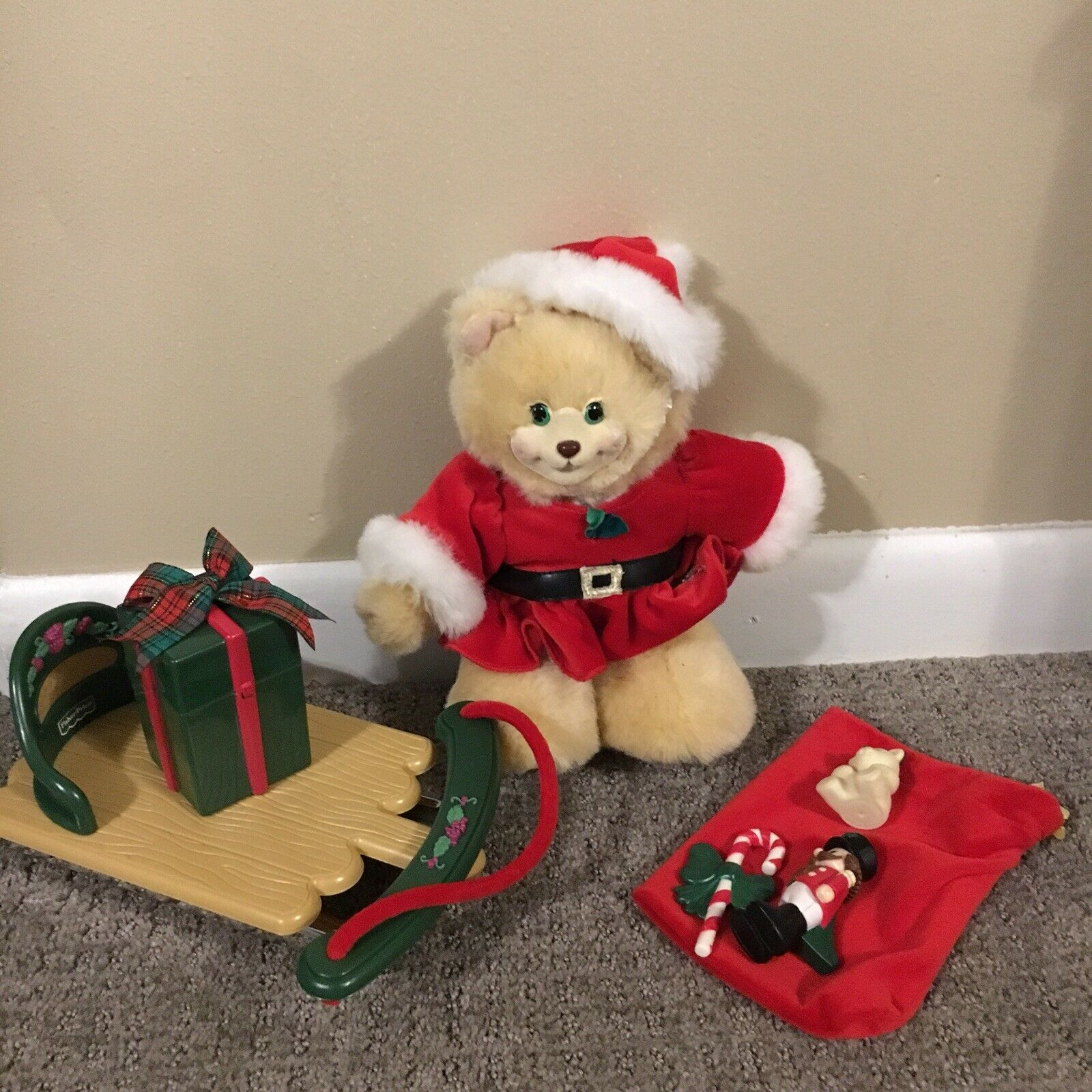 Rare Vintage Collectible Briarberry Bear Bear Bear Collection Berrykris Christmas Complete 6880ad