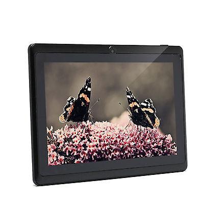 "IRULU Tablet 7"" Android 4.4 Quad Core Dual Cam 16GB 1024*600 HD w/Black Keyboard"