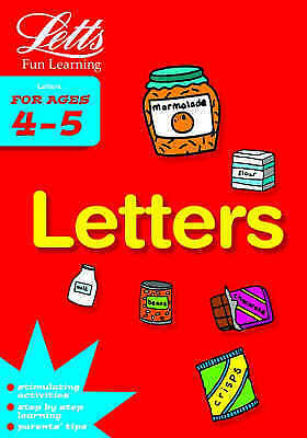 "1 of 1 - ""AS NEW"" Letters Age 4-5 (Letts Fun Learning) (Letts Fun Farmyard Learning), Var"