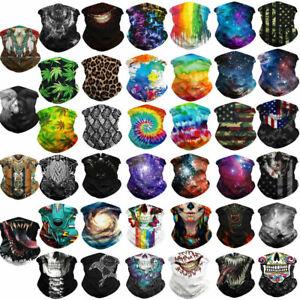1xMulti-Purpose Bandana Face Cover Neck Warmer Dust Shield Snood Scarf Hair Band