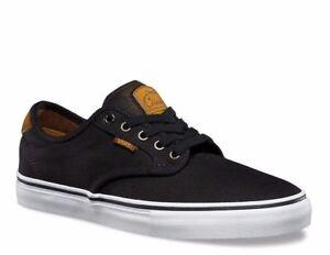 5c7f7de1969ad1 Image is loading VANS-Chima-Ferguson-Pro-Burnished-Leather-Black-Shoes-