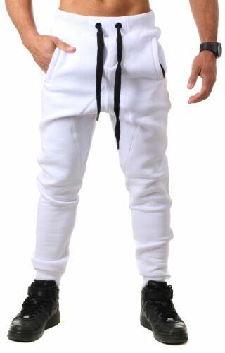 Young /& Rich Herren Jogginghose Sweatpants Training Freizeit drop crotch low